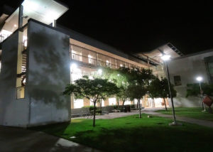 Exterior LED Lighting installed by ReGreen at Santa Monica College in Los Angeles, CA