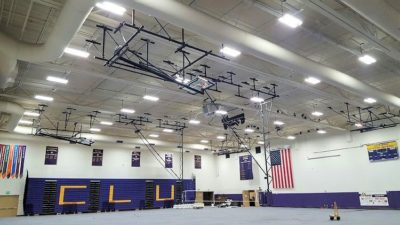 Cal Lutheran LED Lighting Installation